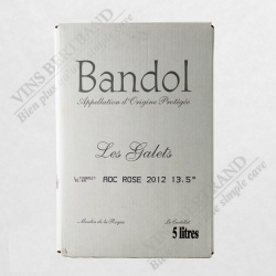 FONTAINE 5 L BANDOL ROSE