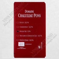 FONTAINE 5 L MUSCAT SEC CHALULEAU PONS BIO