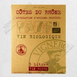 FONTAINE 3 L COTES DU RHONE BIO