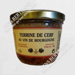 TERRINE DE CERF 180 GR
