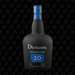RHUM DICTADOR 20 ANS