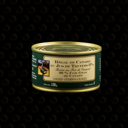 REGAL DE CANARD TRUFFE 130 GR
