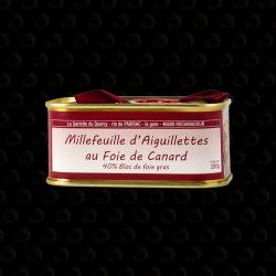 MILLEFEUILLE AIGUILLETTES DE FOIE GRAS 200 GR