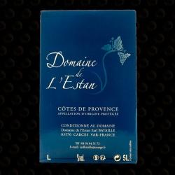 FONTAINE 5 L DOMAINE DE L'ESTAN ROSE