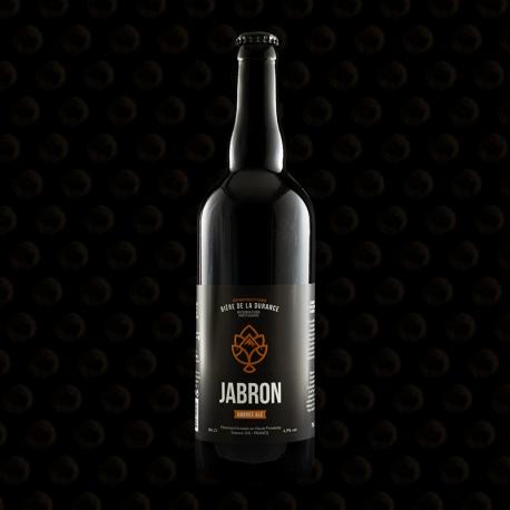 BIERE LA JABRON AMBREE ALE 75 CL