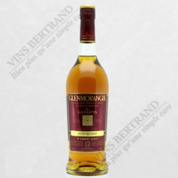GLENMORANGIE LASANTA 12 ANS SHERRY CASKS EXTRA MATURED