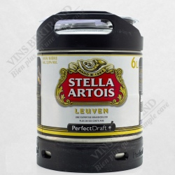 MINI FUT STELLA BLONDE 6 L POUR MACHINE PERFECT DRAFT