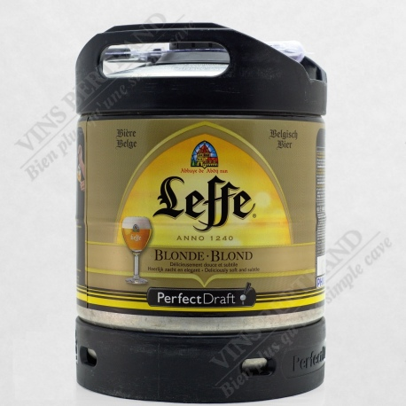 MINI FUT LEFFE BLONDE 6 L POUR MACHINE PERFECT DRAFT