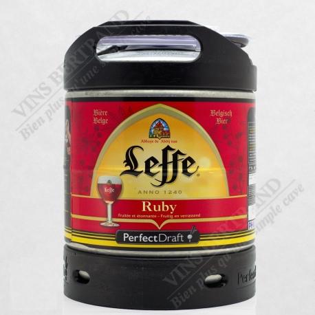 MINI FUT LEFFE RUBY 6 L POUR MACHINE PERFECT DRAFT