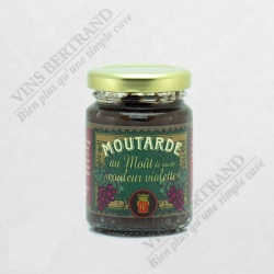 MOUTARDE AU MOUT DE RAISIN COULEUR VIOLETTE