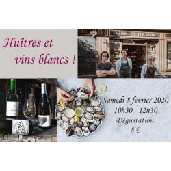 Huîtres et vins blancs