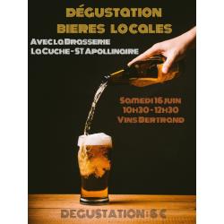 Dégustation Bières locales