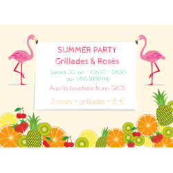 Summer Party aux Vins Bertrand !