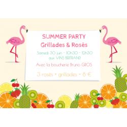 Summer Party aux Vins Bertrand !