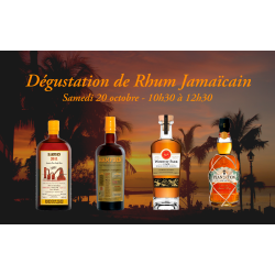 Dégustation de Rhum Jamaïcain