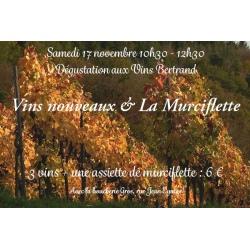 Vins nouveaux & La Murciflette