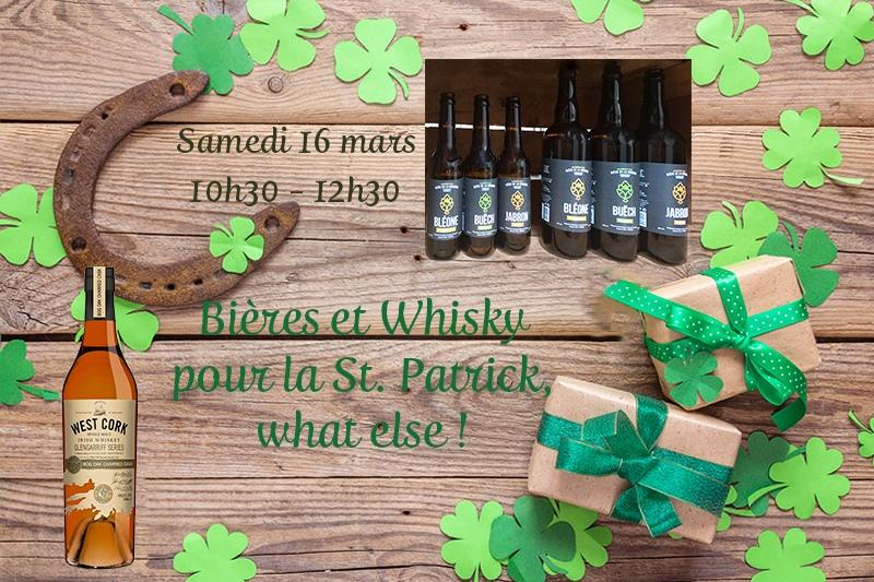 Bières et Whisky pour la St. Patrick